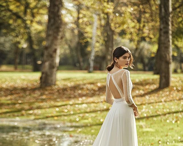 Obra alma novia rosa clara essencia novias coleccion 2021