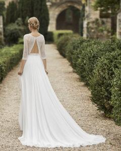 Walia Alma novia rosa clara essencia novias coleccion 2021