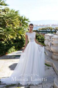8103 Monica Loretti coleccion 2021 essencia novias outlet sevilla vestidos de novia