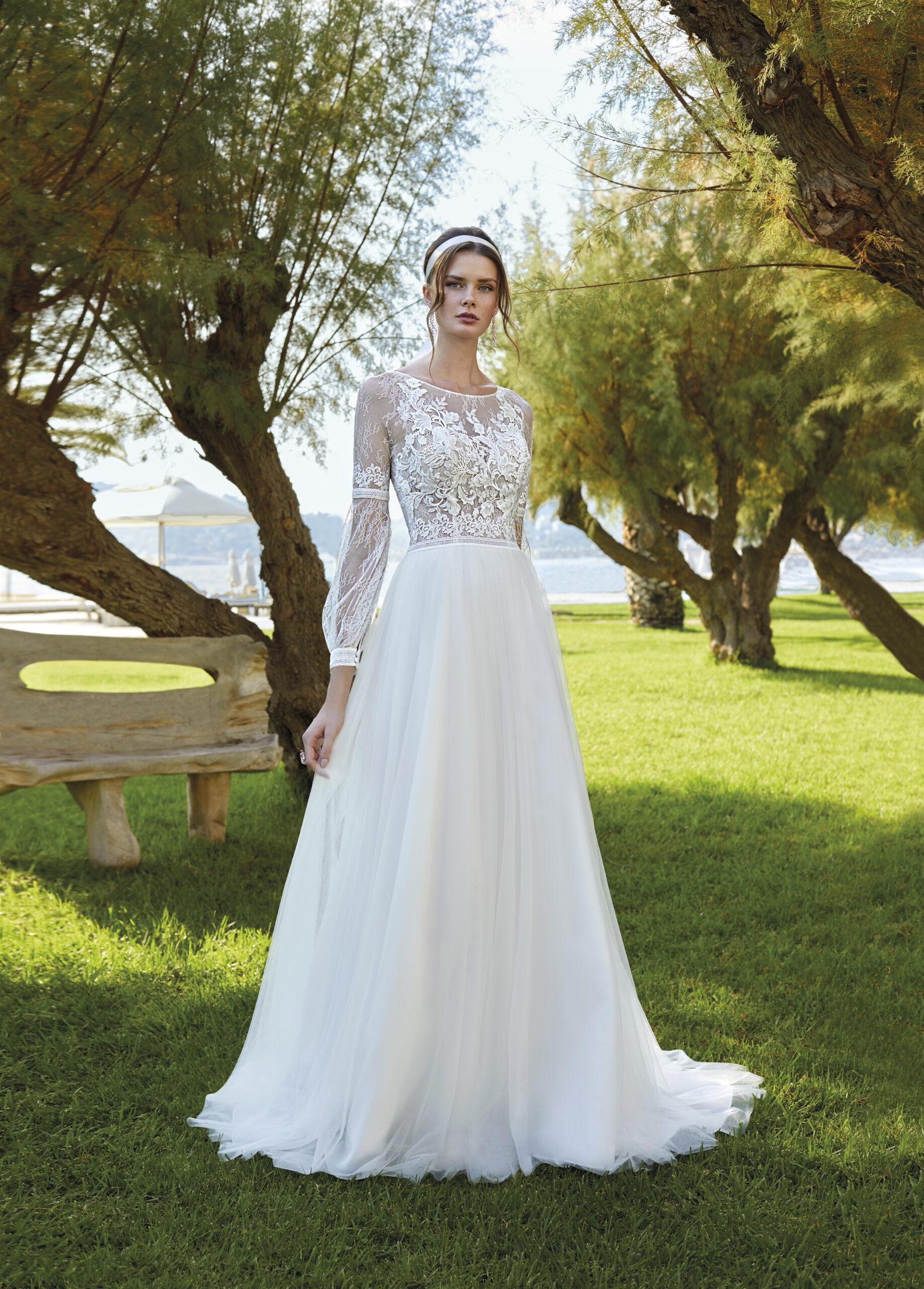 DR 349 DESTINATION ROMANCE DEMETRIOS ESSENCIA NOVIAS COLECCION 2021 outlet novia sevilla
