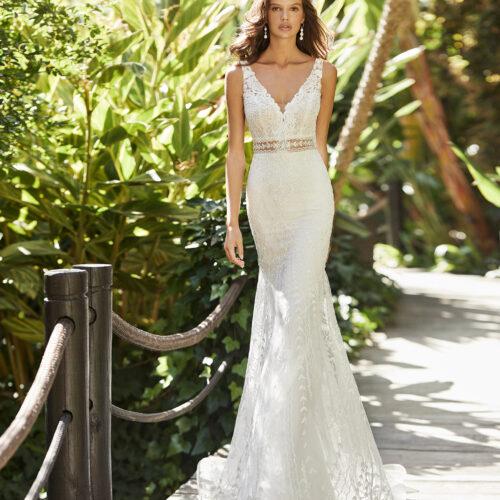 5N115_3_ZAREK Adriana Alier Rosa Clara Essencia Novias coleccion 2021 vestido de novia sevilla