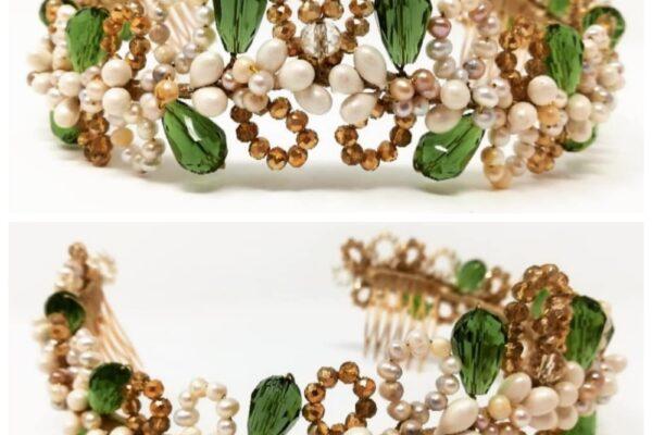 tiaras personalizadas novias complementos novia tiara cristal diadema joya algarabía tocados novias sevilla vestidos novia sevilla essencia novias
